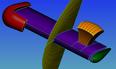This grid showcases our new ability to extrude from wingtips with poles.