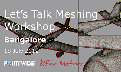 KFour Metrics' Let's Talk Meshing Workshop logo