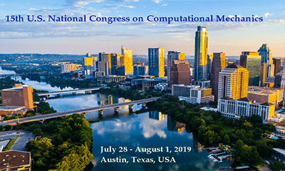 15th U.S. National Congress on Computational Mechanics (USNCCM15) logo