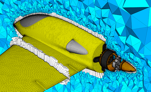 CFD Mesh Generation for Aerospace