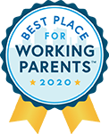 Pointwise Best Place for Working Parents in 2020 Badge