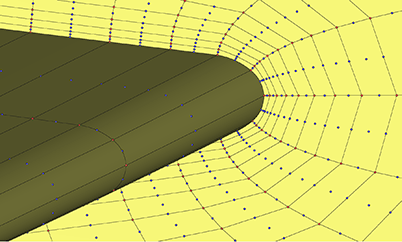 High-Order Mesh Generation Using Pointwise