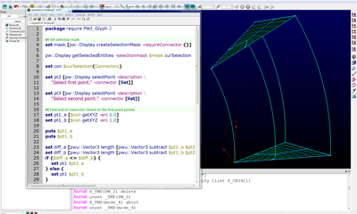 Creating a script in Pointwise can be a quick process with the right approach.